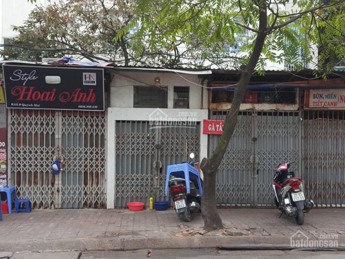 Cho thuê cửa hàng mặt phố QUỳnh Mai 10m2x2m riêng biệt (5,5 triệu/tháng)