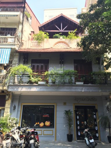 Cho thuê nhà mặt phố vị trí cực đẹp phố Trần Khất Chân, diện tích 70m2 x 3 tầng, MT 5m
