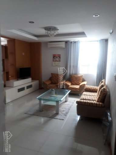 Cho thuê căn hộ Hoàng Tháp KDC Trung Sơn 3PN 2WC đầy đủ nội thất, có ban công, lầu cao 10tr/th