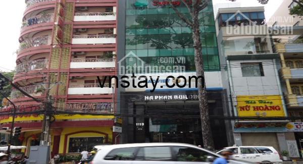 Văn phòng Hà Phan đường Trần Hưng Đạo cho thuê, 2 chiều xe chạy