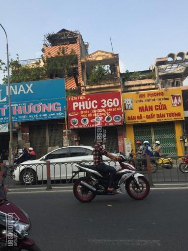 Nhà chính chủ đường Phan Văn Trị, P. 5, Q. Gò Vấp, nhà kết cấu 1 trệt, 2 lầu, diện tích 4*18m