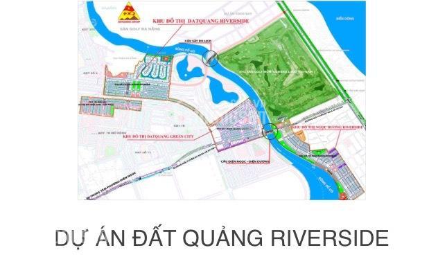 Kết quả hình ảnh cho vị trí kết nối dự án đất quảng riverside