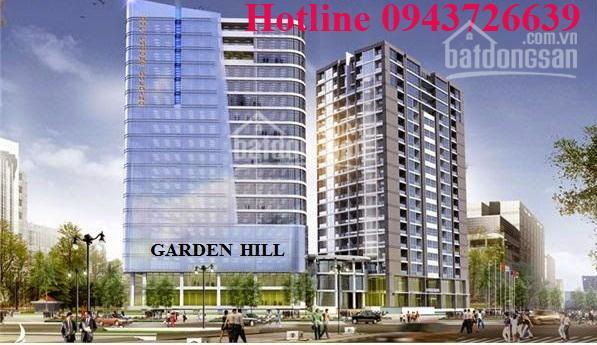 Cho thuê MB kinh doanh tại tầng 1,2,3 giá từ 159.29 nghìn/m2/th tại dự án Garden Hill, 99 Trần Bình