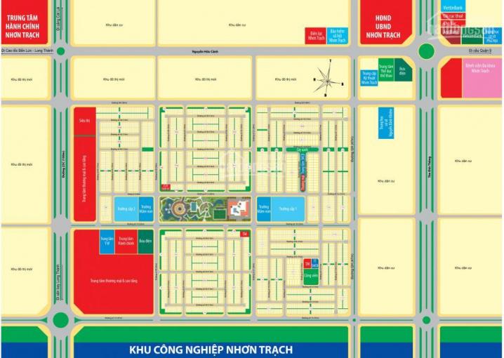 Bán đất gần chợ, Phú Hội, Nhơn Trạch, Đồng Nai, Mega City 2, Kim Oanh, 0914.666.047