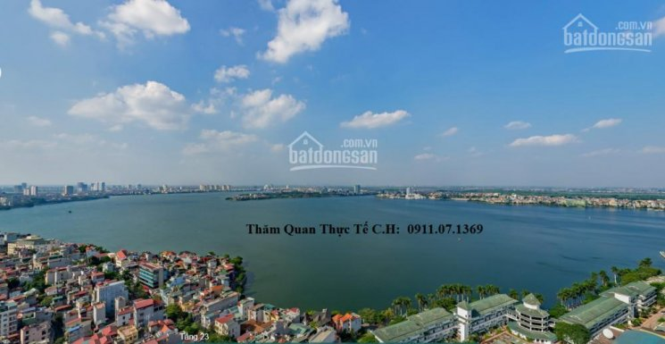 Đặc biệt hoa hậu 3PN Sun Thụy Khuê, góc 2 mặt Hồ Tây, Bách Thảo, xem thực tế CH: 0911.07.1369