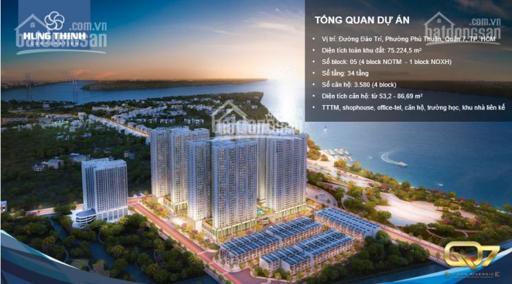 Hot! Chỉ cần 490tr làm chủ căn hộ Q7 Sài Gòn Riverside 2PN, CK 1-18%+vàng SJC+xe hơi. LH 0901383993