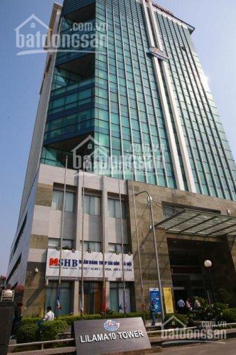 Cho thuê văn phòng 100 - 300m2 tòa nhà Lilama 10, đường Tố Hữu, Nam Từ Liêm. 0945589886