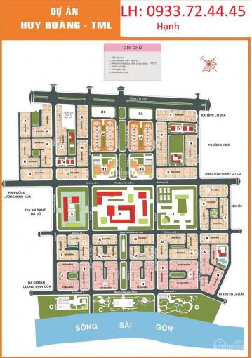 Bán đất Thạnh Mỹ Lợi quận 2 giá đầy bất ngờ, nằm ở trung tâm quận, UBNN nằm giữa, nhiều trường học