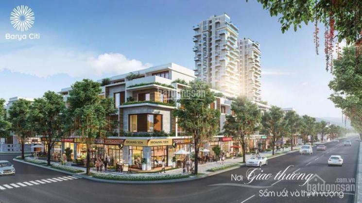 Nhà phố thương gia Barya Citi, ngay trung tâm hành chính Bà Rịa. LH: 0901.39.80.90 PKD chủ đầu tư