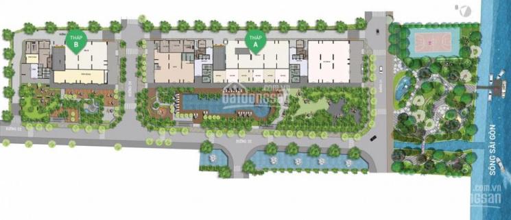 Bán căn hộ 3 phòng ngủ, giá tốt 87m2, dự án Opal Riverside, liên hệ 0932011212 ảnh 0