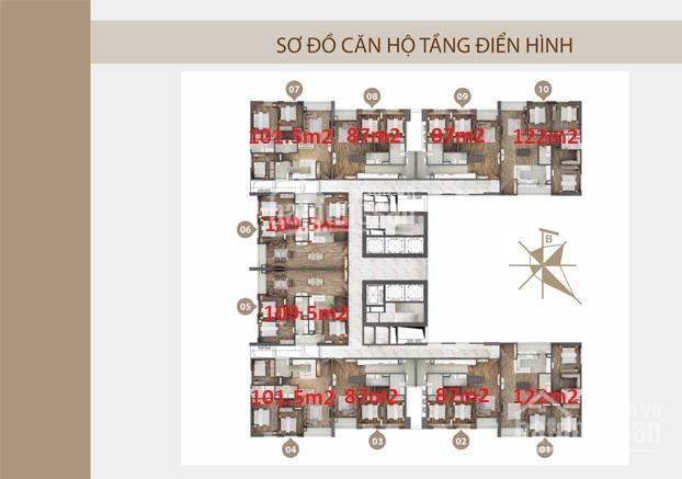 Bán chung cư Phú Mỹ Complex Ngoại Giao Đoàn, 87m2-101.5m2-109.5m2-122m2, giá tốt nhất thị trường