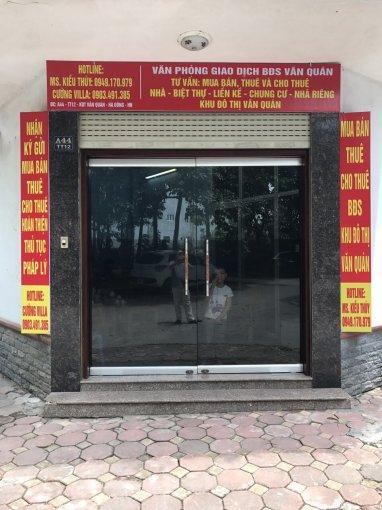 Bán liền kề Văn Quán, Hà Đông, mặt Nguyễn Khuyến, ĐB, 108m2, MT 5m, 16.5 tỷ. LH  0903491385