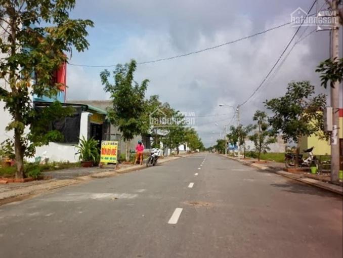 Bán giá rẻ lô đất mặt tiền đường nhựa 25m gần trường THCS tại thị xã Bến Cát