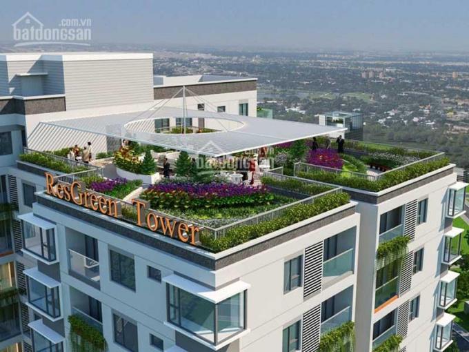 Res Green Tower 5 sao chuẩn Leed Hoa Kỳ Tân Phú, giá từ 2,7 - 4.4 tỷ, gọi 0909138006 - 0983561002 ảnh 0
