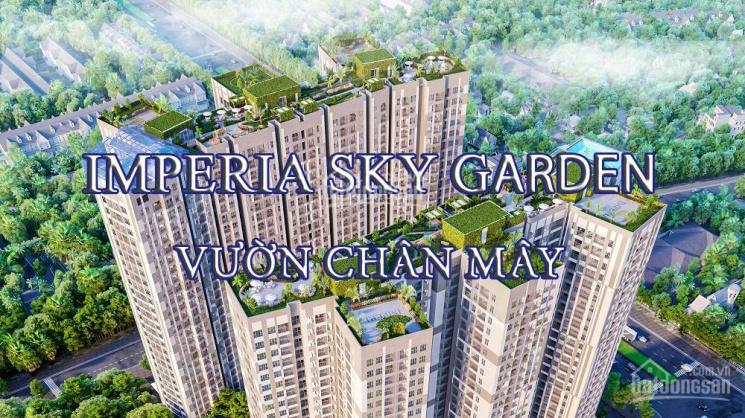 Siêu phẩm chung cư Hà Nội - Imperia Sky Garden - Đẳng cấp tuyệt đỉnh, từ 2,05 tỷ/căn