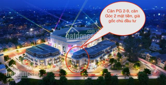 Bán 1 căn Shophouse PG 2-9 Vincom Thái Nguyên, căn góc 2 mặt tiền, vốn 3,2 tỷ. LH: 0986853461
