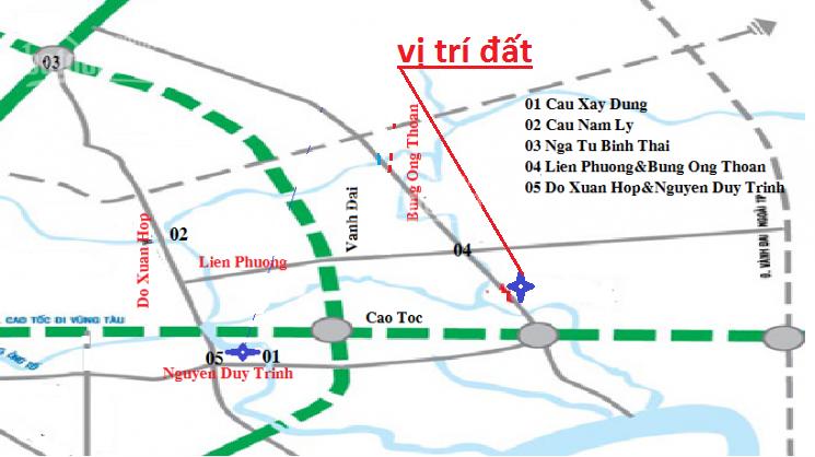 Cần tiền bán nền đất dự án Thời Báo Kinh Tế Sài Gòn, ngay Bưng Ông Thoàn giá rẻ ảnh 0