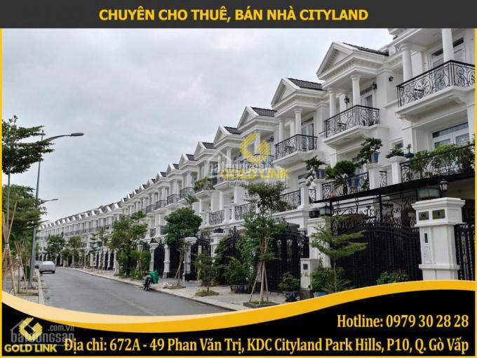 Gold Link cho thuê nhà nguyên căn trong khu dân cư Cityland Center Hills, trung tâm Gò Vấp