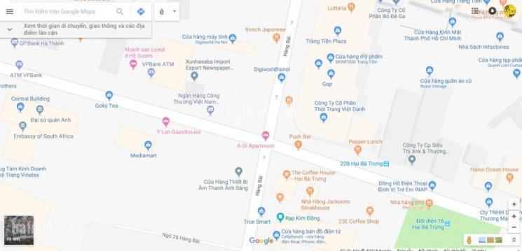 Bán 1100m2 đất xây khách sạn phố Hàng Bài - Quận Hoàn Kiếm Hà Nội, giá tốt. LH 0944587997
