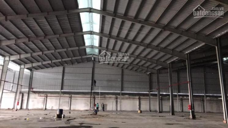 Cho thuê kho xưởng, MT đường Hồ Văn Long, P. Tân Tạo, Quận Bình Tân. DT: 136 tr/tháng