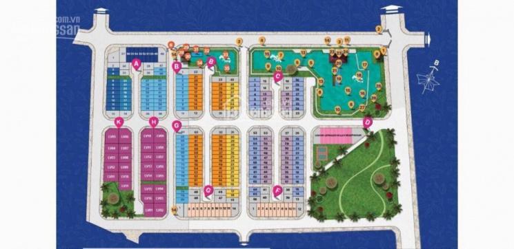Bán lô góc Sim City diện tích 5x16m nhà hai mặt tiền đẹp nhất dự án đường 12m LH: 0906.2341.69