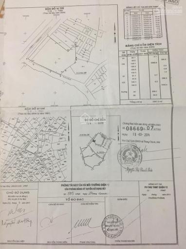 Bán nhà đất 2 MT đường Nguyễn Ảnh Thủ 48.5*50.5m, P.HT, Q12. SHR, giá 150 tỷ TL, ĐT 0902405086