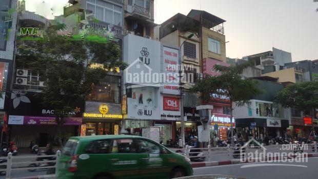 Cho thuê nhà mặt phố Thái Hà DT 80m2 x 4 tầng, mặt tiền 5.5m, vỉa hè rộng (khu Thái Hà cũ)