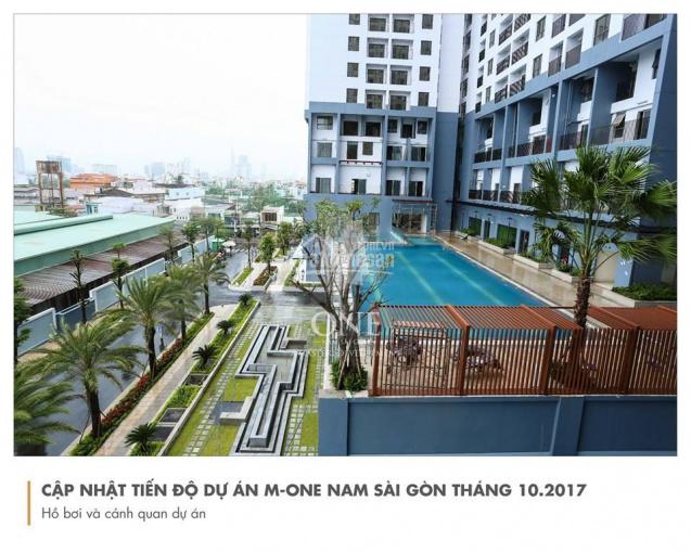 Bán căn hộ OT M - One Quận 7, diện tích 35m2, view thoáng, full NT, giá: 1.4 tỷ. LH: 0935299000