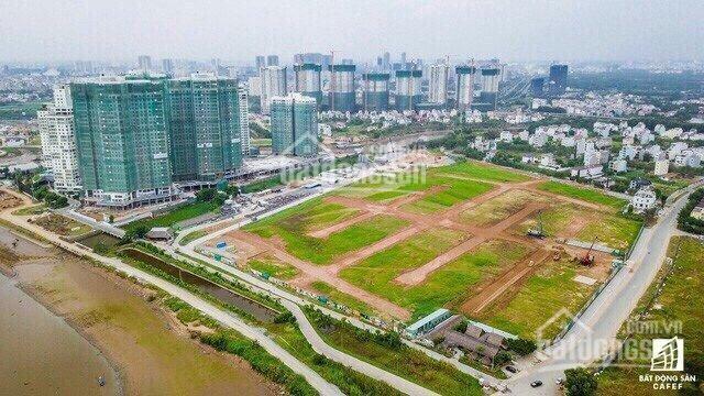 Suất nội bộ đất mặt tiền Trương Văn Bang, mặt tiền sông, giá đẹp cho các nhà đầu tư. LH: 0938343079