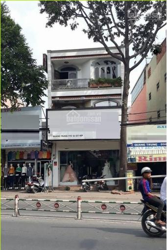 Mặt tiền khu KD sầm uất mức sống cao Đ. Quang Trung, p. 10, DT 6,2x30m, hợp KD thương hiệu