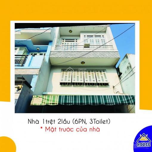 Nhà nguyên căn cho thuê, 6PN, 3WC mới sơn sửa nên sạch sẻ, giá rẻ bất ngờ - LH: 0903 657465