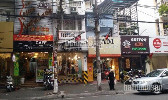 Bán nhà mặt phố Bà Triệu 70m2 x 2 tầng, MT 6m, giá 31 tỷ.