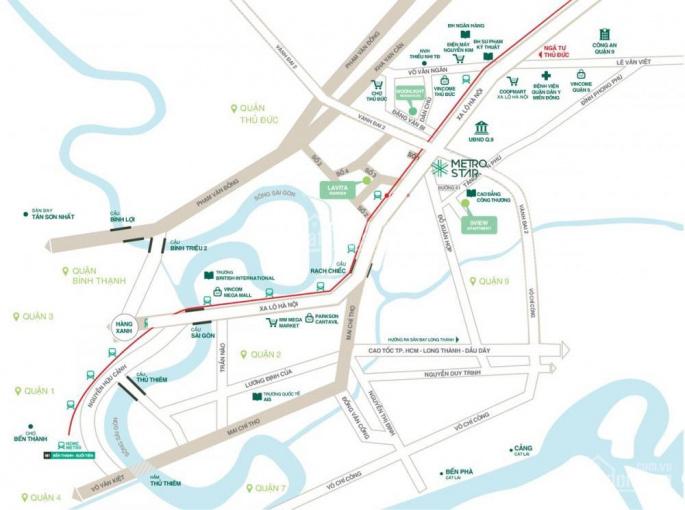 Căn hộ Metro Star quận 9 MT Xa Lộ Hà Nội, giá 30 - 35tr/m2, liên hệ đặt chỗ đợt 1 0967.087.089 Tài