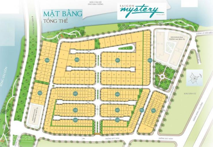 Bán đất nền dự án Sài Gòn Mystery (Hưng Thịnh) P. Thạnh Mỹ Lợi Q.2 5x20m, 110tr/m2, 9x18m 92 tr/m2