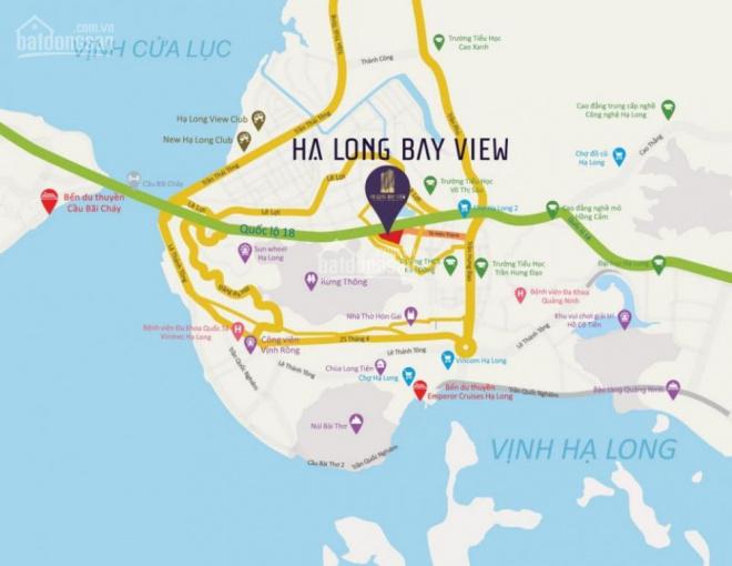 Cần tiền bán gấp căn góc 2PN tháp A dự án Hạ Long Bay View. Giác cực tốt