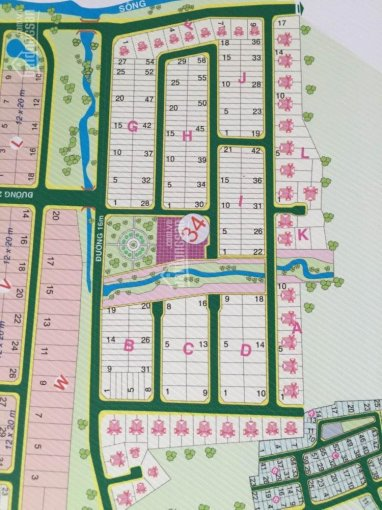 Chính chủ cần bán đất dự án Cty Đông Dương đường Bưng Ông Thoàn, DT 100m2, giá 36,5 tr/m2 ảnh 0