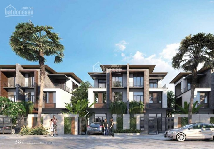2 lô góc view biển phân khu E, F tại GoldSand Hill Villa. Tuyến đường Trần Phú, Nha Trang thứ 2