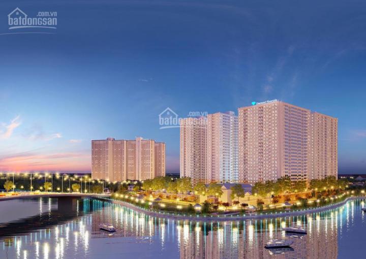 CH Diamond Riverside ở Võ Văn Kiệt, 72m2, 2PN giá 1,9 tỷ/căn, cách Q1 chỉ 15 phút, gần nhận nhà