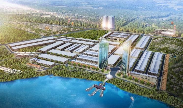 Bán đất mặt tiền đường 27m khu đô thị Số 4, liền kề FPT Đà Nẵng, nhìn thẳng ra sông cổ cò