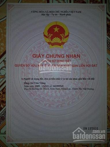 Bán 50m2 đất thổ cư tại thôn Mỹ Nội, xã Bắc Hồng, Đông Anh - Hà Nội