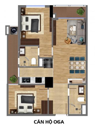 Bán nhanh căn hộ 69,58m2 chung cư Rivera Park, giá chỉ 2,1 tỷ