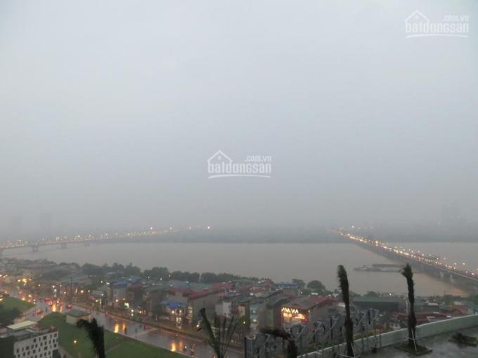 Căn hộ Mipec Riverside 3PN, view sông Hồng, cầu Chương Dương, giá 18 tr/tháng, 0977.741.977