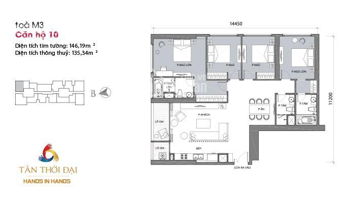 Chuyển nhượng căn 4 phòng ngủ, 140m2, tại dự án Metropolis Liễu Giai, LH 0929137497