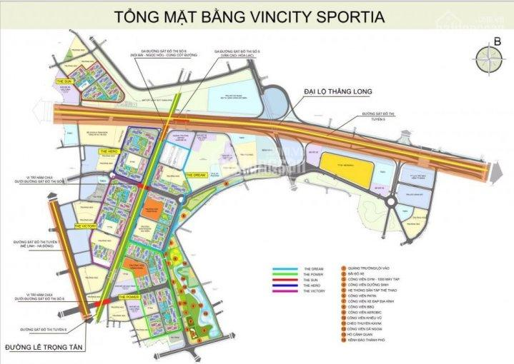 Bán suất ngoại giao - kiot shophouse VinCity Sportia Tây Mỗ. Siêu hot 0914.102.166