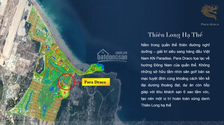 Biệt thự biển Para Draco - Bãi Dài Cam Ranh - Thanh toán 15%, cam kết cho thuê 8%/năm LH 0917888658