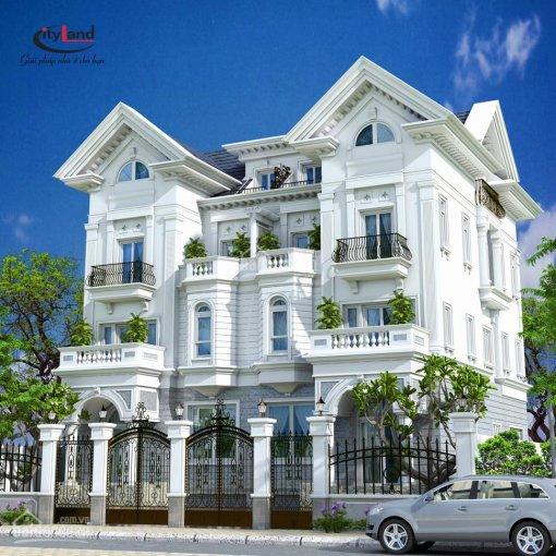 Ngày duy nhất Công ty bán đồng giá 5 căn nhà phố Cityland Park Hills: Hầm, trệt, 3 lầu, 100m2