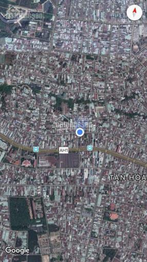 Nhà góc ngã 4 với 2 mặt tiền đường lớn DT 192.6m2(ngang 12m dài 16m), chỉ cách QL1A 60m đường thẳng