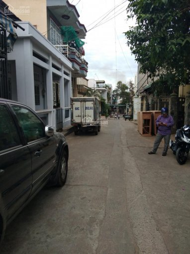 Nhà 2 mặt tiền hẻm ngay sau chợ Thái Bình 160m2