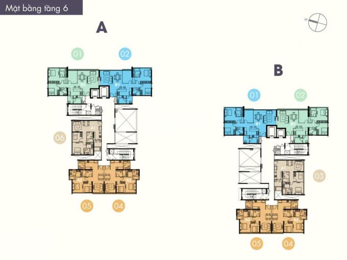 Cần chuyển nhượng căn hộ The Ascent, 2PN, 2 toilet, 71m2, 4.1 tỷ (full nội thất). LH: 0941475552