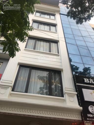 (0976.075.019) cho thuê nhà mặt phố 144 Vũ Phạm Hàm, 60m2 x 6T, mặt tiền 8.2m (rộng nhất phố)